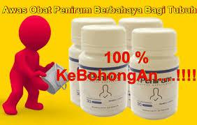 awas obat penirum berbahaya bagi tubuh anda klg herbal