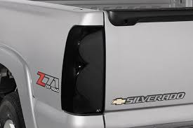 2011 chevy silverado smoked tail lights avs tail shades blackout taillight covers best price on tinted