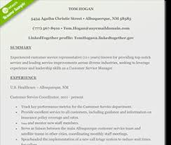 Customer Service Manager Resume Template Free Resume Templates Download