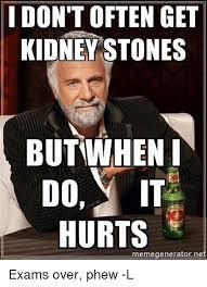 Kidney Stones Meme - i don t often get kidney stones but when do it eme generator ne
