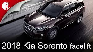 2018 kia sorento um facelift revealed in south korea youtube