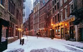 winter view of ny nice home decor classic fashion movie style
