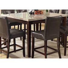 Cappuccino Dining Room Furniture Coaster Furniture 103778 Milton Counter Height Table In Cappuccino