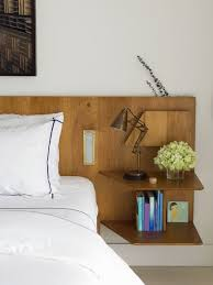 Headboards With Built In Lights Enchanting Headboard With Shelf Headboard Shelf Plans Pallet
