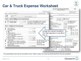 Trucking Expenses Spreadsheet by Self Employed Borrower Study Part I Completing The Form 91 Wit