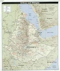 Horn Of Africa Map by