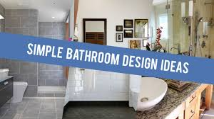 Bathroom Designs Idea Simple Bathroom Design Ideas 2017 Youtube