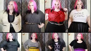 modcloth black friday plus size fashion try on haul eloquii target modcloth torrid