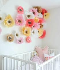 diy deco chambre enfant diy deco chambre enfant fille très sympa et girly fleur en papier