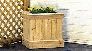 diy planter box how to build a planter box video hgtv