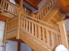 post and beam loft railing u003e custom stairs and railings