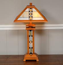 frank lloyd wright style desk lamp ebth