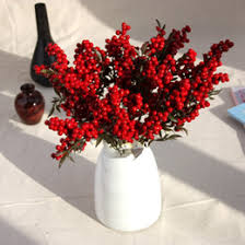 artificial berries christmas decorations bulk prices affordable