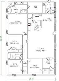 5 bedroom floor plans top 20 metal barndominium floor plans for your home