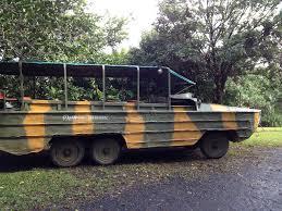 amphibious vehicle duck kuranda 3 in 1 combo day tour skyrail train rainforestation