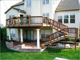 Patio Deck Ideas Backyard Small Backyard Decks Patios Back Patio Deck Ideas Concrete Patio