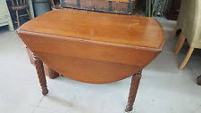 Oval Drop Leaf Table Antique Drop Leaf Table Ebay