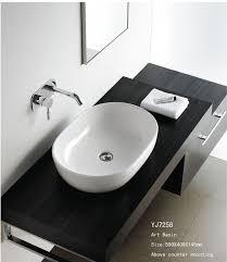 Bathroom Basin Ideas by Bathroom Terrific Bathroom Design Ideas With Oval White Ceramic
