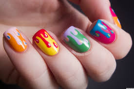 nail art designs easy home wonderful natural design simple nail