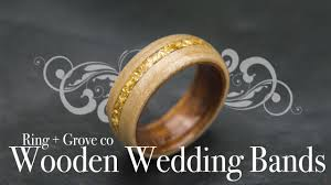 the cartel wedding band wooden wedding bands by ring grove co
