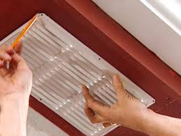 how to install attic soffit vents how tos diy