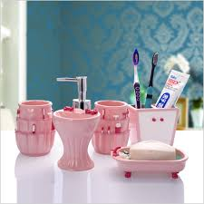5 Piece Bathroom Set by Popular Bathroom Accessories Resin Buy Cheap Bathroom Accessories