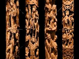 wood sculpture singapore china wood carving