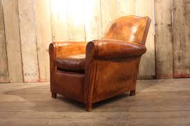 Antique Leather Sofas A French Leather Club Armchair C 1940 Leather Armchairs