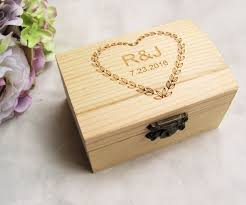 personalized wooden boxes aliexpress buy personalized wooden wedding ring box custom