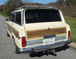 jeep grand wagoneer 1988 jeep grand wagoneer connors motorcar company