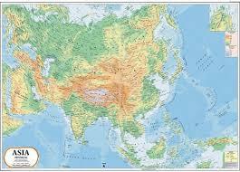 asia map asia physical map asia physical map exporter manufacturer