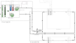 side split floor plans understanding hvac loops