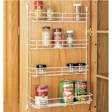 Kitchen Cabinet Door Spice Rack Cabinet Organizers Kitchen Cabinet Wire Door Mount Spice Rack By