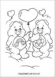 care bears coloring pages friend bear coloringstar