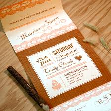 Wedding Invitations Rustic Rustic Lace Seal And Send Invitation Seal And Send Wedding