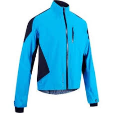 cycling jacket blue st 900 rain jacket red decathlon