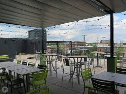 Patio Furniture Kansas City by Chicken N Pickle Opens Rooftop Deck In North Kansas City Kansas