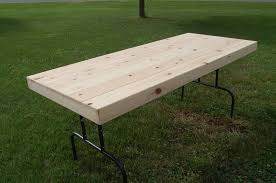handmade rustic folding table by jho studios llc custommade com