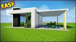 Minecraft Simple Modern House Design