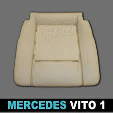 mousse de siege mousses pour assises avants de sièges de véhicules mercedes vito 1