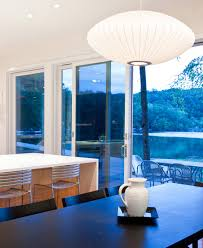 Lake House Dining Room Ideas Wooden Wall Panels For Contemporary Lakeside Home Design Hupehome