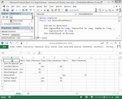 deleting blank rows in a variable range with vba dan wagner co