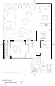 Plan Concrete 413 Sqm L Shaped Concrete House With Series Of Vegetated 17