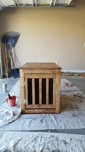 ana white dog crate end table diy projects