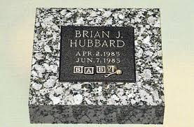infant headstones bronze headstone for a child featuring alphabet blocks