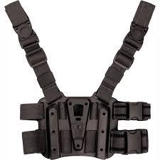 blackhawk tactical drop leg serpa holster platform black
