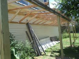 How To Build A Lean To On A Pole Barn How To Build A Lean To Shed 8 Steps With Pictures