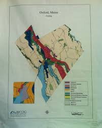 Maine County Map Code Enforcement Town Of Oxford