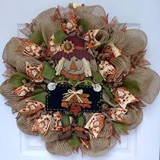 Sunflower Mesh Wreath Halloween Wreaths Page Three Halloween Wikii