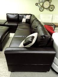 Sectional Sofas Sacramento Sacramento Espresso Leather Sectional Sofa With Left Facing Chaise